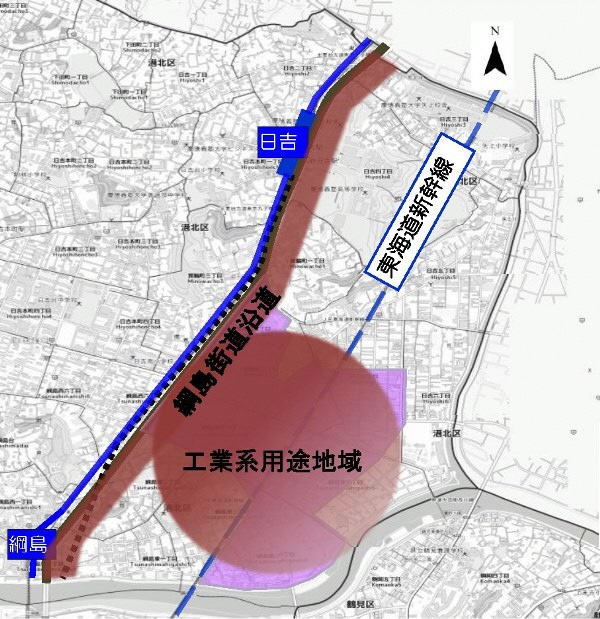 Image of area targeted for vision