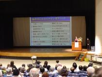 Photograph of stroke prevention lecture