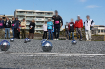 Photograph of Kohoku Ward petanque meet