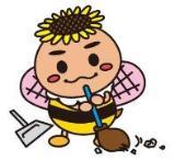 蜂太郎打掃插圖