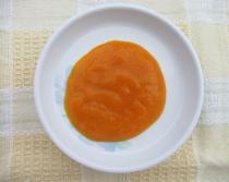 Pumpkin paste photograph