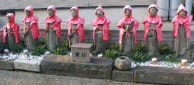 Eight images of guardian deity of children state