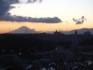 從日野中央2丁目公園看的富士山