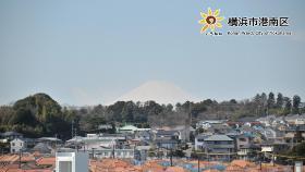 來自南平台的頂點的富士山