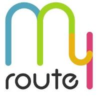 my route 로고