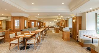 Es la imagen del Hotel el Nuevo Gran café el café.