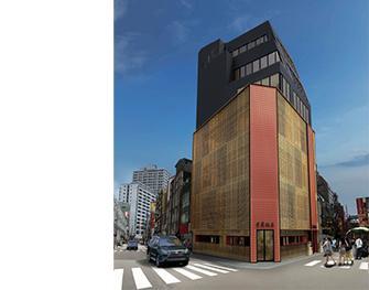 Es una imagen del Jukei Hanten el Edificio Principal.