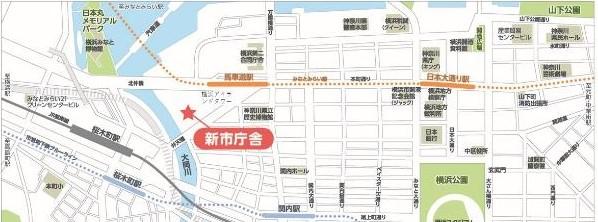 El mapa de guía de ayuntamiento