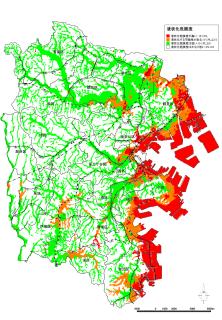 Liquefaction map