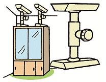 Fall prevention device illustration 1 of shelf