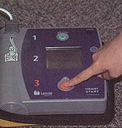 FR2 통전 버튼을 누르는 사진