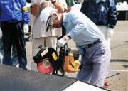 The handling of equipments