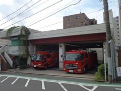 神奈川区内の消防出張所 横浜市