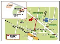 Map to Midori fire department