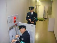 On-the-spot inspection (indoor stopper fire extinguishing facilities)