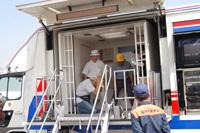 Disaster prevention instruction car