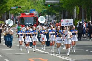 The Yokohama parade