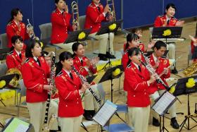 Disaster prevention contact concert photograph