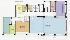El plan molido de primer piso