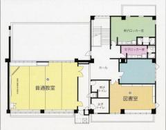 El plan molido de segundo piso