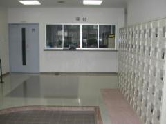 Oficina y el corredor de la entrada
