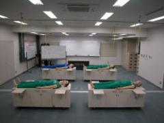 Fotografía del cuarto de entrenamiento