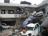 The damaged situation of Yamada district