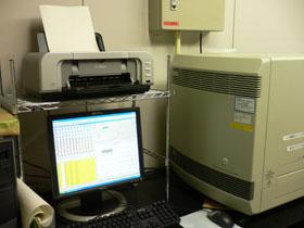정량 PCR 장치의 사진