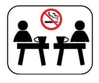 No-fumando interior