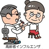 Elderly person influenza Vaccinations business