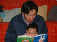 Photograph 2 that it looks like we are reading picture book