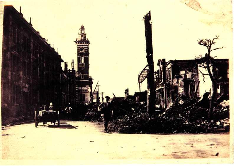 Imagen del Hon-cho Dori la avenida