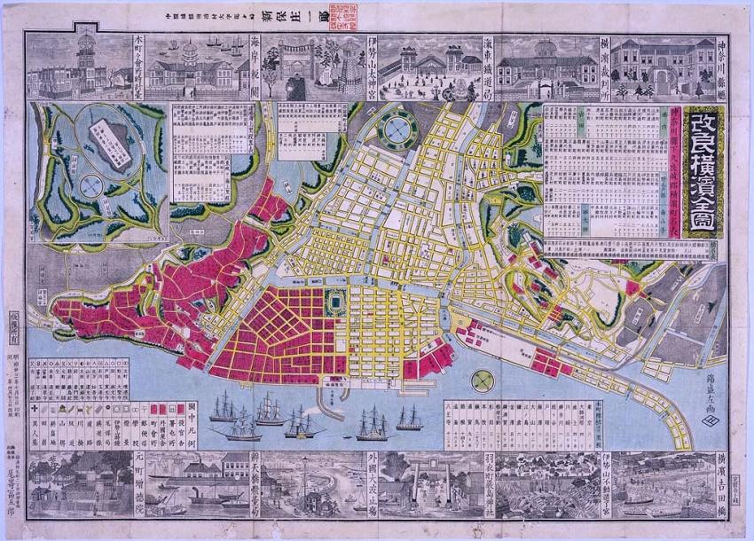 Imagen del Yokohama mejorado el mapa completo