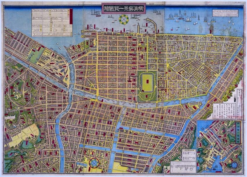Imagen de la lista de Yokohama la pintura del paisaje real