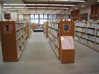 Elementary school student bookshelf photograph
