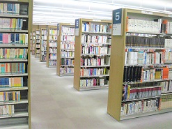 Photograph of adult library room