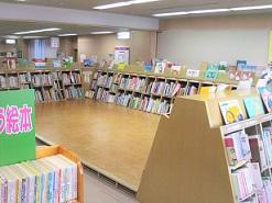 Photograph of picture book corner