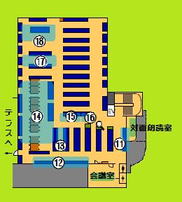 El mapa de la guía de segundo piso