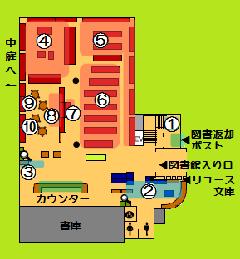 El mapa de la guía de primer piso