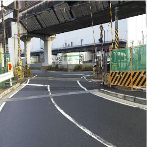 Antes de que Egasaki el negocio del cruce ferrocarril