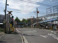 Sojiji railroad crossing (the west) (before maintenance)