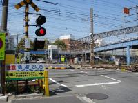 Sojiji railroad crossing (the west) (after the maintenance)