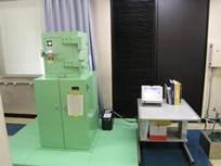 Photograph of environmental radioactivity measuring equipment