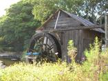 Scenery of waterwheel