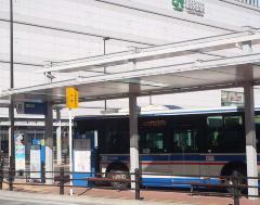 Photograph of Tsurumi Station Yokohama East Exit Bus Terminal