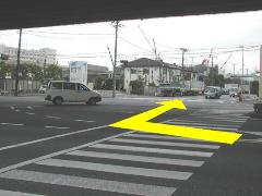 Photograph of Bentencho intersection