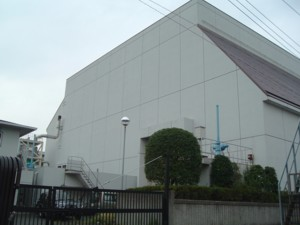 Takada pumping station whole view