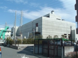 Egasaki pumping station whole view