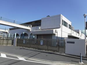 Photograph of Hiranuma pumping station