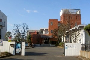 The Kohoku water reproduction center front gate